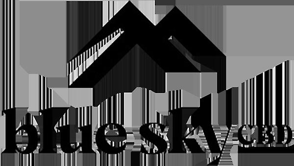 blue sky CBD logo